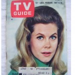 Elizabeth Montgomery on the cover of TV Guide