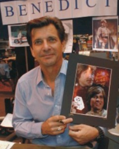 dirk benedictg at sci fi convention