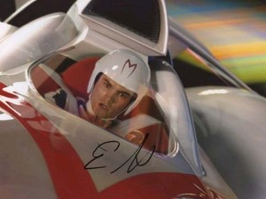Emile Hirsch in Speed Racer