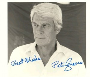 Peter Graves Autograph 8x10 available at our shop