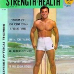 Hawaiian Eye star Robert Conrad and weight training