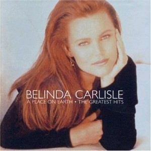 "Belinda Carlisle Cover Art from ""A place on earth"""