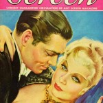 Mae West & Clark Gable on cover of Movie Screen