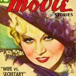Mae west on cover of romantic movie stories
