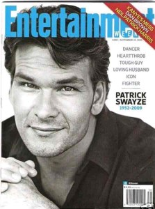 Patrick Swayze Entertainment Weekly Cover