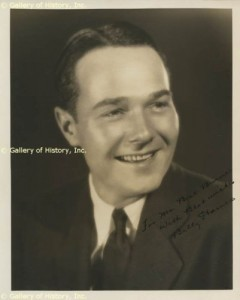 william haines autograph photo