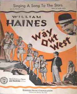 william haines way out west