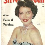 Ava Gardner on the cover of Silver Screen